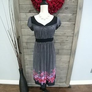 Dressbarn polka dot dress